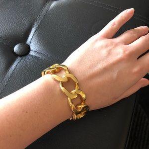 STEELTIME 18 kt. gold plated women bracelet